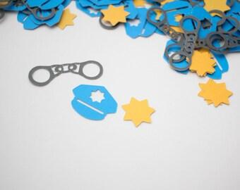 Police Confetti, Cop Confetti (200 Pieces)