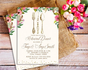 Rehearsal Dinner invitations, Wedding Rehearsal Dinner invitation, rustic rehearsal dinner invite, rehearsal invitation, rustic invitation