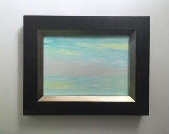 Framed Spring Ocean