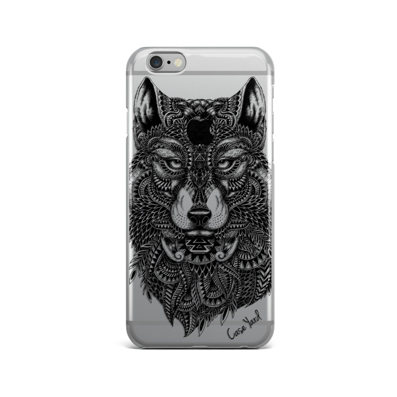 wolf iphone 5s case
