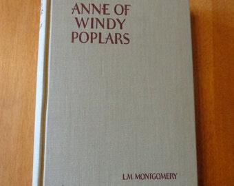 Anne of Windy Poplars by Lucy Maude Montgomery 1st edition 1936