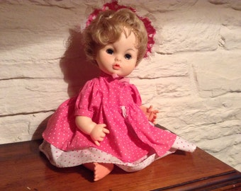 Vintage Blossom Doll/ 1960s/lovely Girl