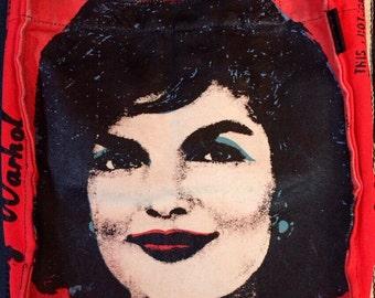 Andy Warhol 'Jackie O' book bag