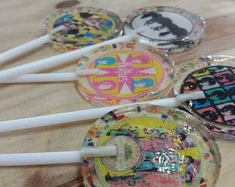 15 The Beatles Handmade Lollipops