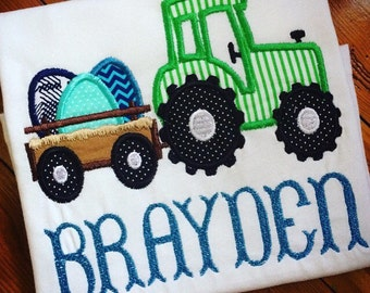 Easter Tractor Shirt