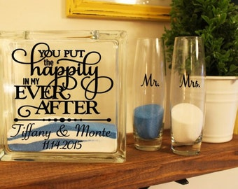 Happily Ever After (Sand Ceremony Set)