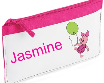 Personalised Piglet Pencil Case
