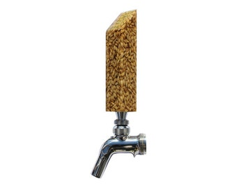 Light Beer Grain Tap Handle