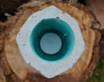 Concrete Candle Lantern