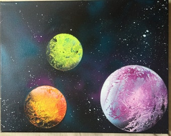 Small space painting