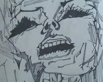 Afterlife Original Drawing