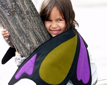 Butterfly Wings for Kids - Felt Wings - Children's dress up Costume FREE SHIPPING Over 25Eur Using Code FSDEC2015