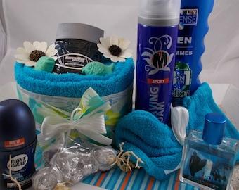 Towel Cake, Mr. gift, birthday gift, money gift