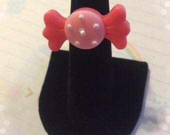 Fairy Kei Lolita Adjustable Candy Ring