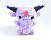 Espeon Amigurumi - Pokemon Chibi Crochet Plush