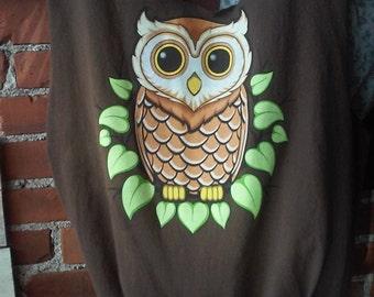 Owl t-shirt bag