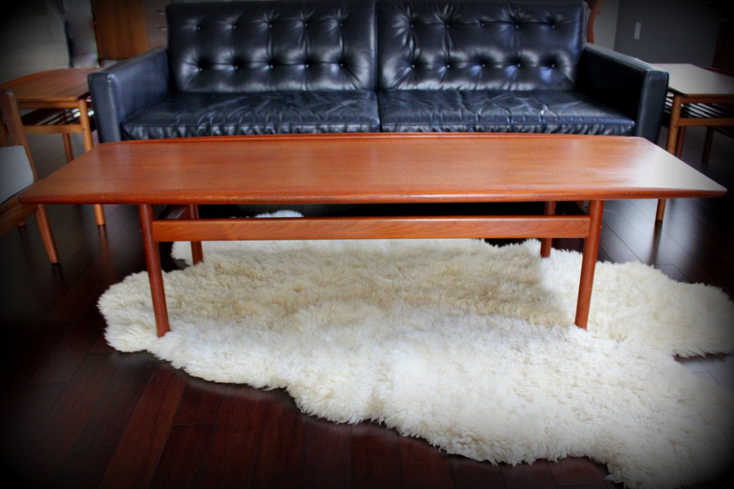 Danish Modern Teak Coffee Table By Grete Jalk For Poul