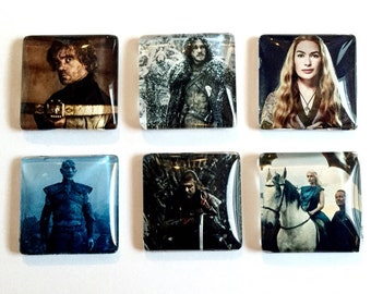 Game of Thrones Magnets- Set of 6