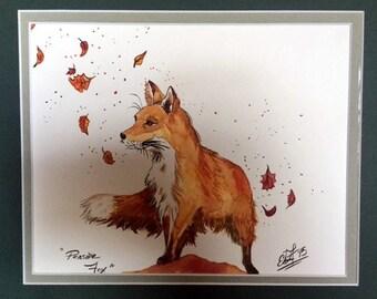 Pensive Fox