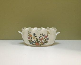 Vintage HITKARI Bone China Dish Bowl