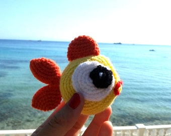 Fish amigurumi - knitted toys