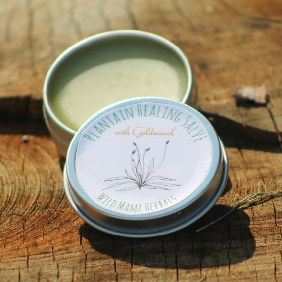 what is plantain goldenseal salve used for