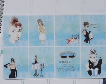 8 Breakfast at Tiffany's Backgrounds! S040