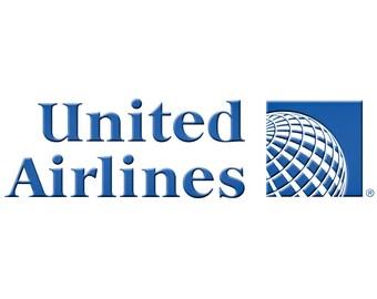 United Airlines Globe Logo Fridge Magnet (LM14151)