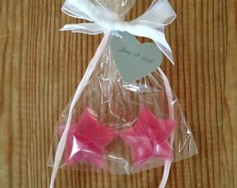 Customizable Set of 5 Soap Wedding Favors