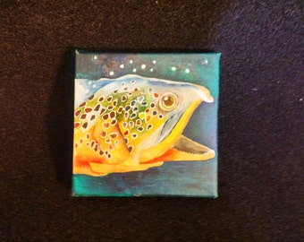 Brook Trout in Oil