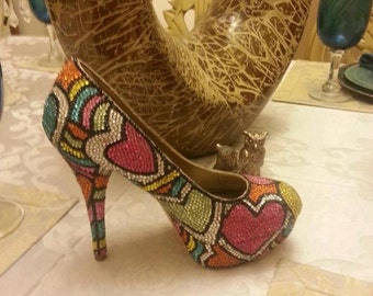 Whimsical Bling shoes