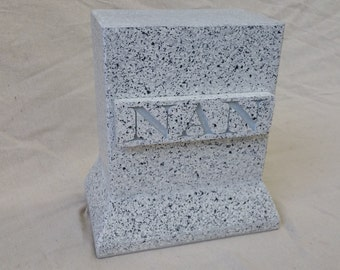 Freestone Granite Markers (house numbers, signs, grave markers, etc.)