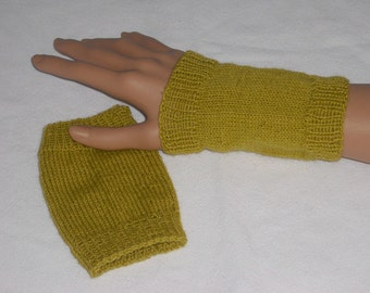Wrist warmers - hand warmers - gloves - gloves - hand made