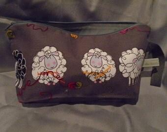 Knitting Sheep - Small Project Bag
