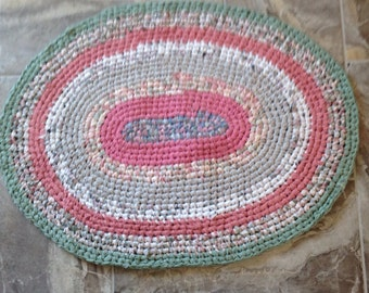 "Rag Rug ""Cotton Candy"""
