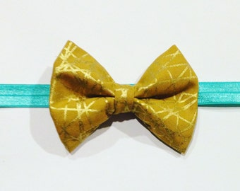 Mustard Gold Bow