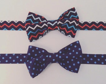Cotton Print Mens Bow Tie - other designs available