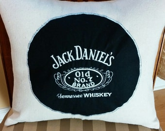 Jack Daniels Decorative Pillow Cover