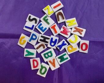 Unique Alphabet Magnets