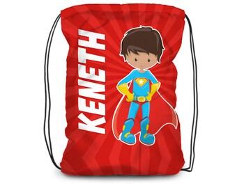 Superhero backpack | Etsy