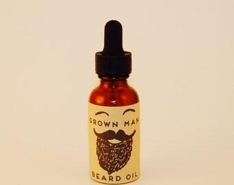 Grown Man Beard Oil