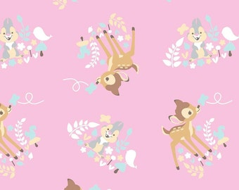 Bambi 100% Cotton Fabric