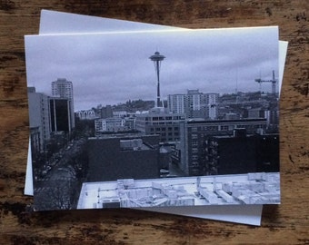 Seattle note card