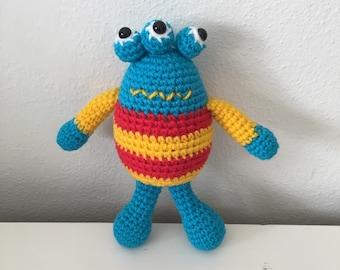 Marvin the Handmade Crochet Monster