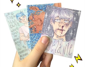 Handmade Custom Card--ACEO/ATC