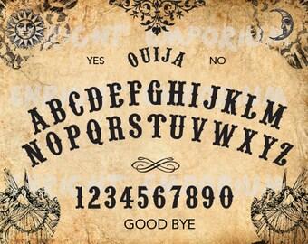 Ouija Board Inspired Digital Download