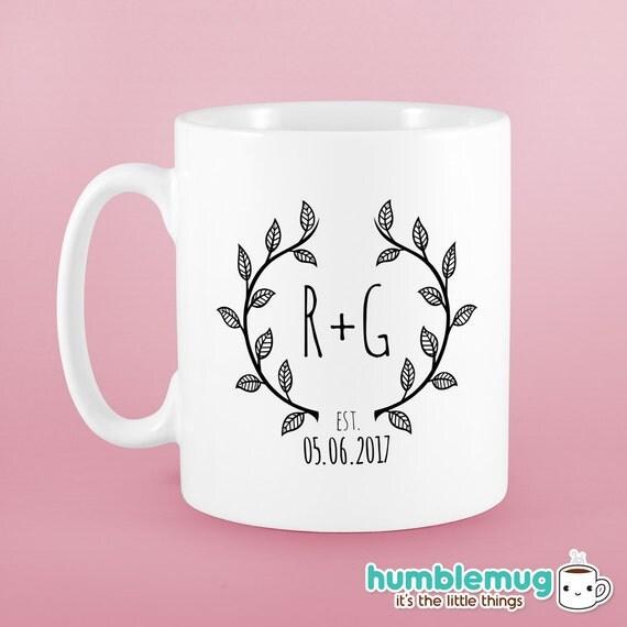 ... Wedding monogram gift. Wedding gifts for couple. Wedding gift Idea