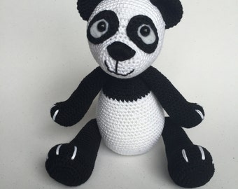 CROCHET PATERN panda