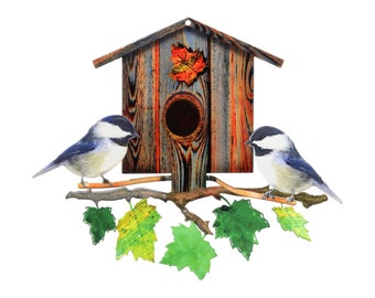 Next Innovations Nature Symphony Chickadee Birdhouse