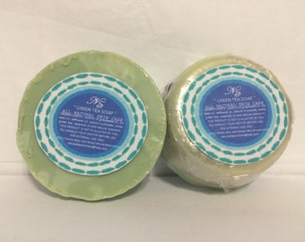 Green Tea Round Soap